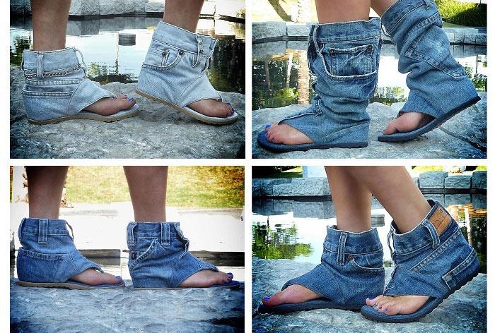 8582b670d744 Рукоделие из джинс старых. Что сделать из старых джинсов
